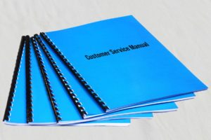 Atlanta customized bound spiral training manuals